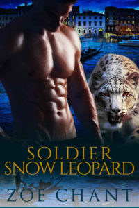 Soldier Snow Leopard by Zoe Chant